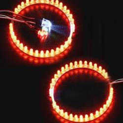 Navigation Lights + Twin Afterburner LED Rings for 60-64mm EDF