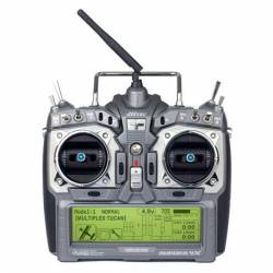 Radio Hitec Aurora 9X Mode 1/2 (9 voies)
