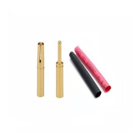 0,8mm Gold Connector Male/Female
