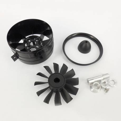 RC Blog 64mm EDF Ducted Fan (adapt. 4mm)