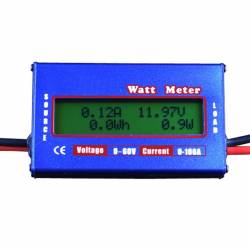 60V 100A Watt Meter Power Analyzer