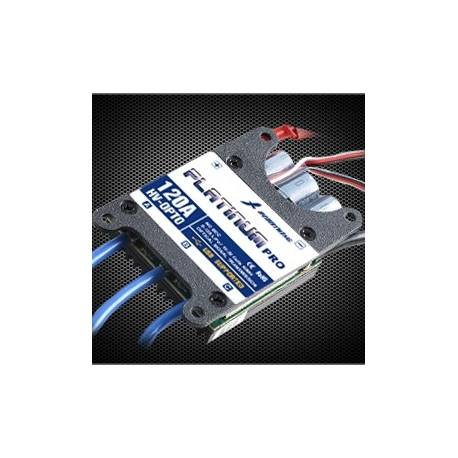 Controleur Brushless Hobbywing 120A HV Platinum Pro 5-12S OPTO