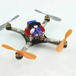 Micro Quadcopter Drone Multirotor Racer Super-X 125mm BNF (version basse latence)