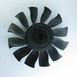 Rotor Turbine EDF RC Blog 64mm 12 Pales