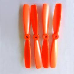 102mm V2 4045 propellers (5mm) 4 pcs for 200-285 QAV (Orange)