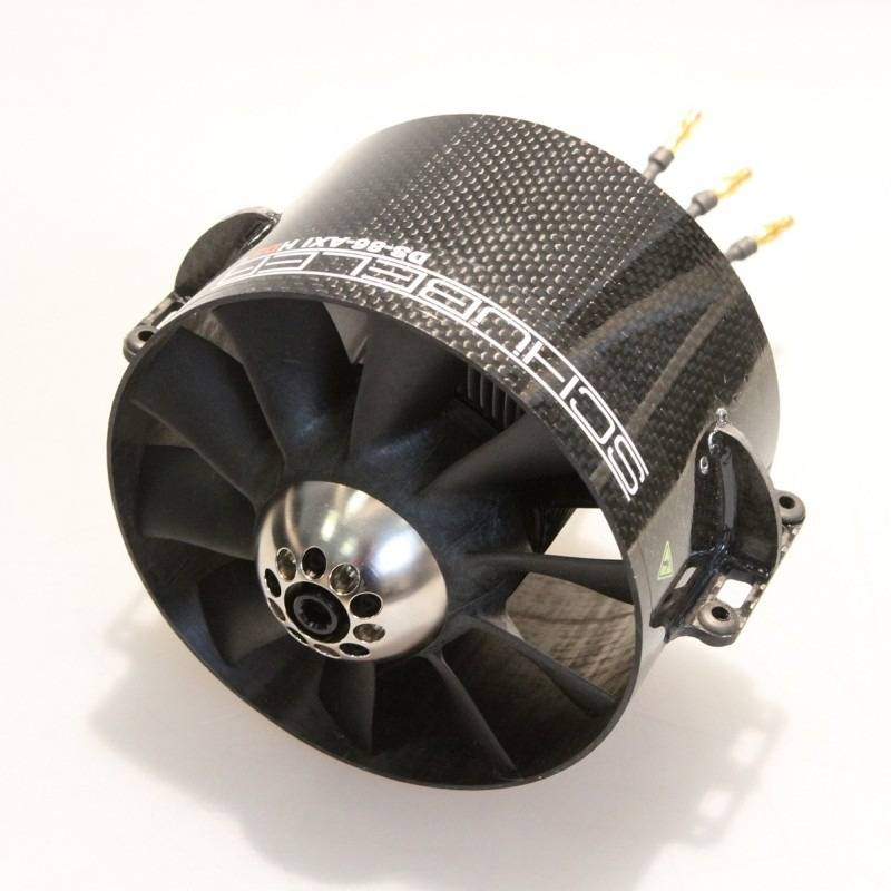 Schubeler Ds 86 Axi Hds 120mm Carbon Edf Ducted Fan W O
