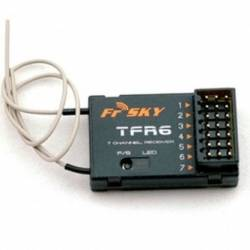 FrSky TFR6 6CH compatible Fasst Futaba Receiver