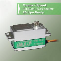 "Servo Pro-Tronik PTK 9752 TG-D 23kg/0.10s 60g Standard ""Low Profile"" Digital Coreless"