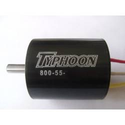 Typhoon HET EDF 800-55 Motor 50mm 675Kv