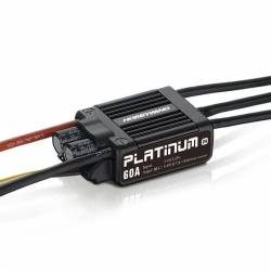 Controleur Brushless Hobbywing 60A Platinum Pro V4 2-6S