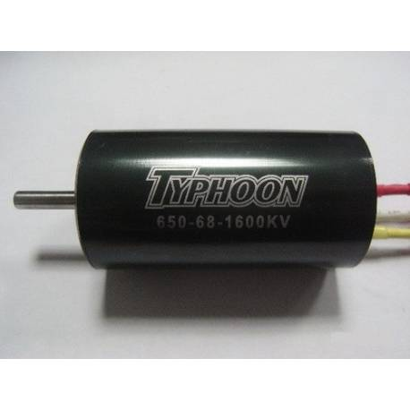 Typhoon HET EDF 650-68 Motor 36mm 1600Kv