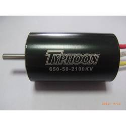 Typhoon HET EDF 650-58 Motor 36mm 2100Kv