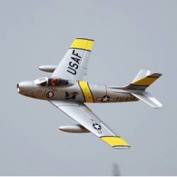 Freewing F-86 Sabre 80mm Jet PNP DELUXE