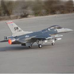 Freewing F-16 90mm Jet PNP DELUXE (Postcombustion)