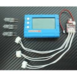 3 in 1 LCD Voltage Indicator Meter Balancer and Discharger 2-6S Lipo Life