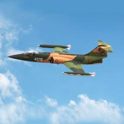 Freewing F-104 Starfighter 70mm Jet PNP 6S DELUXE (Forest Camouflage)