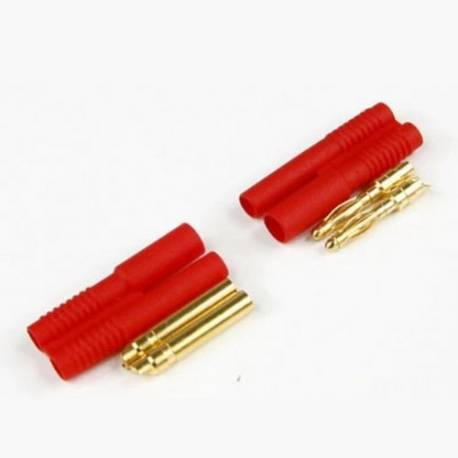 HXT 2mm Gold Connector Set (1 Pair)