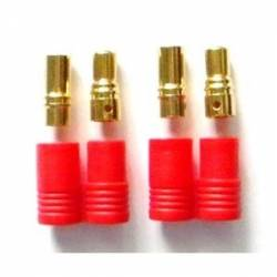 HXT 6mm Gold connector (1 pair)