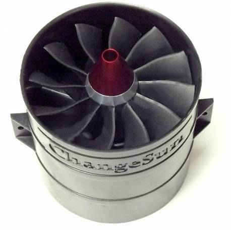 Turbine EDF Changesun 90mm V3 12 Pales (adapt. 5mm)