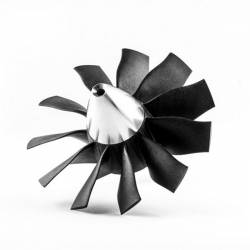 Rotor Turbine EDF Ejets JETFAN-100 Pro 100mm 11 pales (adapt. 8mm)