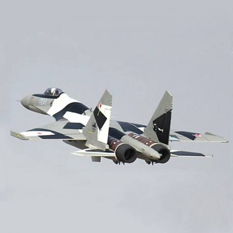 Freewing SU-35 2x 70mm Jet PNP (Camouflage Gris)