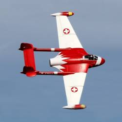 Freewing de Havilland DH 112 Venom V2 90mm Jet PNP (Swiss Red)