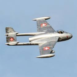 Freewing de Havilland DH 112 Venom V2 90mm Jet PNP (Swiss Air Force)