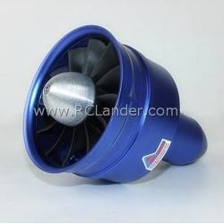 EDF Ducted Fan RC Lander DPS Cone Style 90mm (12 blade - 7 stators) / 6S 1400Kv (CW)