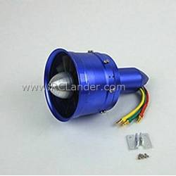 EDF Ducted Fan RC Lander DPS 68mm (10 blade) / 6S 2200Kv (CW)