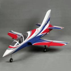 "FMS Avanti S 70mm Jet PNP 4S (White/Red/Blue ""classic"")"