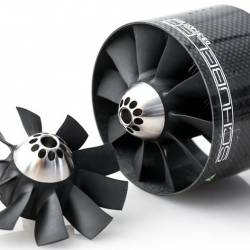 Schubeler DS-51-AXI HDS V2015 90mm Carbon EDF Ducted Fan (with mounting brackets)