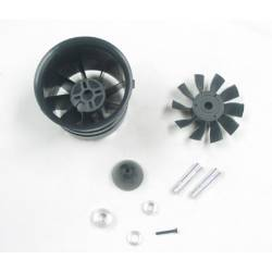 Changesun XRP 10 Blade V3 70mm EDF Ducted Fan (adapt. 3.17 and 4mm)