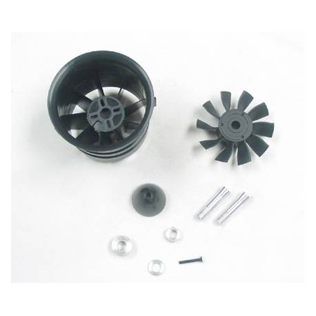 Changesun XRP 10 Blade V3 70mm EDF Ducted Fan (adapt. 4mm)