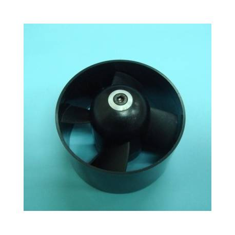 HET 4 Blade 6404 64mm EDF Ducted Fan (adapt. 3 and 3.17mm) no intake lip