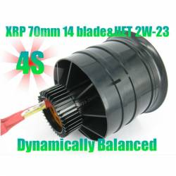 Changesun XRP 14 Blade 70mm EDF Ducted Fan + HET Typhoon 2w-23 2950Kv Motor 4S
