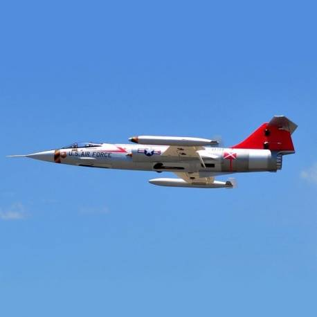 Freewing F-104 Starfighter 70mm Jet PNP 6S (Silver)