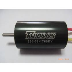 Typhoon HET EDF 650-58 Motor 36mm 1760Kv