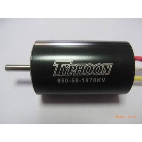 Typhoon HET EDF 650-58 Motor 36mm 1970Kv