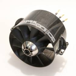 Schubeler DS-86-AXI HDS  120mm Carbon EDF Ducted Fan (with brackets)