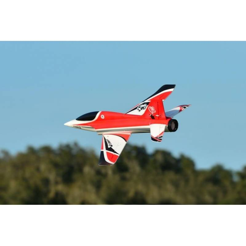 bdfd4aa67a60 Freewing Stinger 64mm Jet PNP High Performance 4S (Red) - Turbines RC