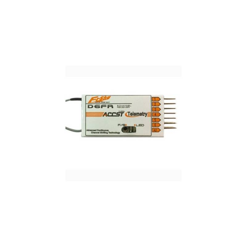 FrSky D6FR 6ch receiver (w/Telemetry) - Turbines RC