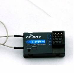 FrSky TFR4 4CH compatible Fasst Futaba Receiver