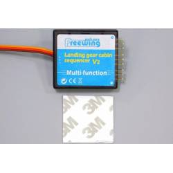 Freewing Multi-Function Landing Gear Door Sequencer and Light Switch V2