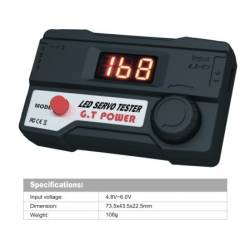 GT Power Digital Servo Tester 4.8v-6v