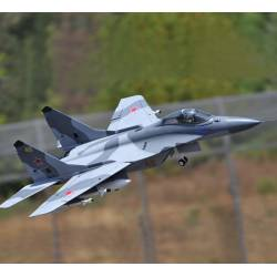 Sky Flight Hobby Mig-29 Fulcrum 2x70mm Jet Vector Thrust PNP (Grey)(Color Smoke)